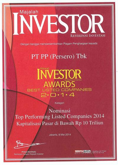 Investor Awards Best Listed Companies 2014